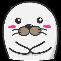 ゴマすりアザラシ(ゴマフアザラシ)